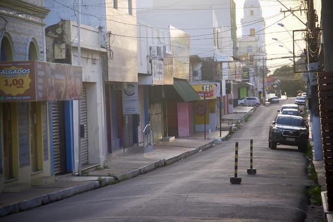 Estado mantém lockdown no Baixo Amazonas devido ao avanço das internações por Covid-19