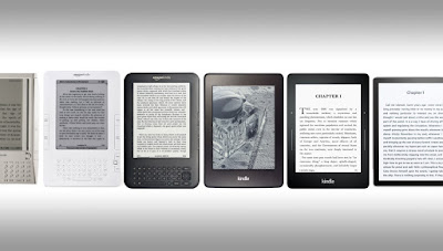 """the evolution of ebook reader:Kindle"""