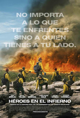 Only The Brave 2017 DVD9 R2 PAL Spanish