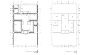Gambar Rencana Pondasi, Sloof, Balok dan Kolom