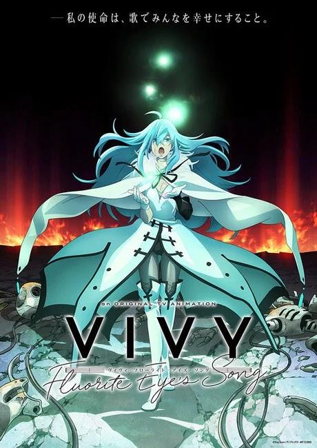 El nuevo anime de WIT, Vivy -Fluorite Eye's Song-