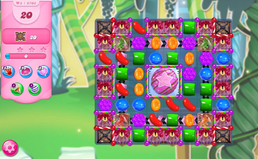 Candy Crush Saga level 6703