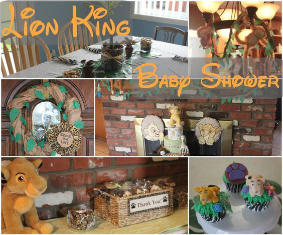 Clearwater Cottage Lion King Baby Shower