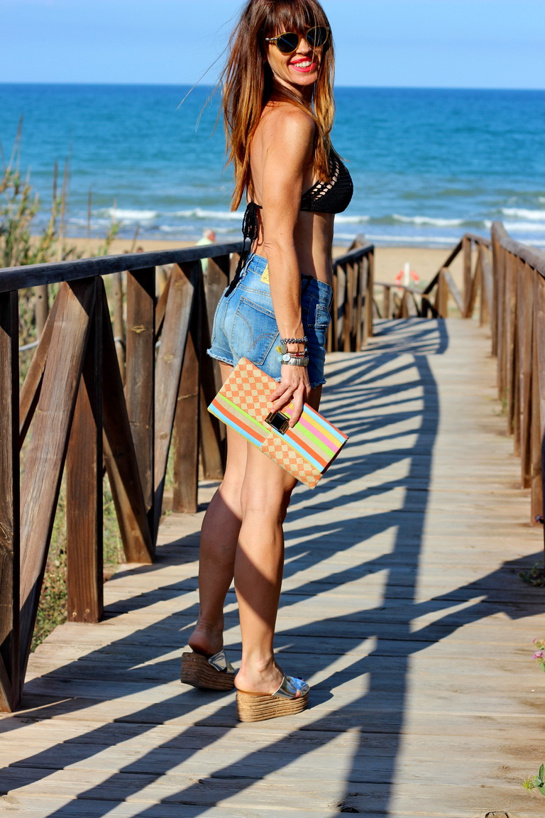 Summer 2016, Bikini Shein, Bikini negro, Fashion blogger, bbeautifulbymaria, Shein, Streetstyle, Guardamar del Segura, playas de Guardamar