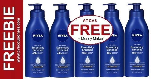 FREE Nivea Body Lotion at CVS 9-6-9-12