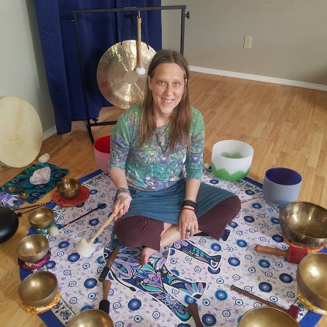 Christy Kay will help usher us into the New Year with a January 2 Sound Healing Event.