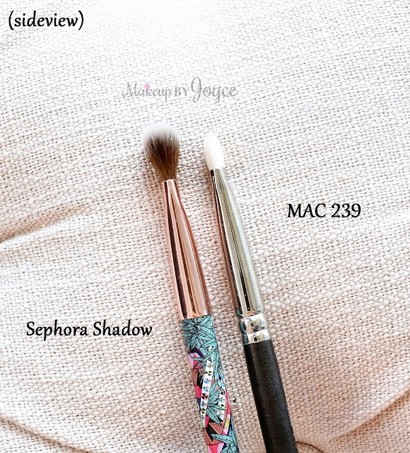 Sephora Mara Hoffman Shadow Brush Review Dupe MAC 239