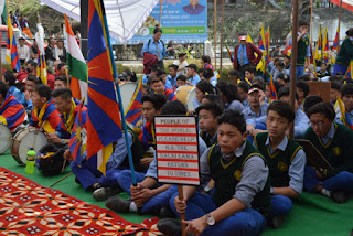 tcv chauntra Tibetan Uprising Day