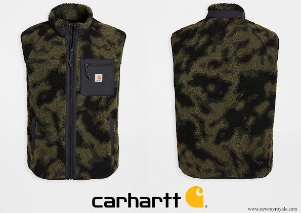 Charlotte Casiraghi wore a Carhartt WIP Prentis Vest