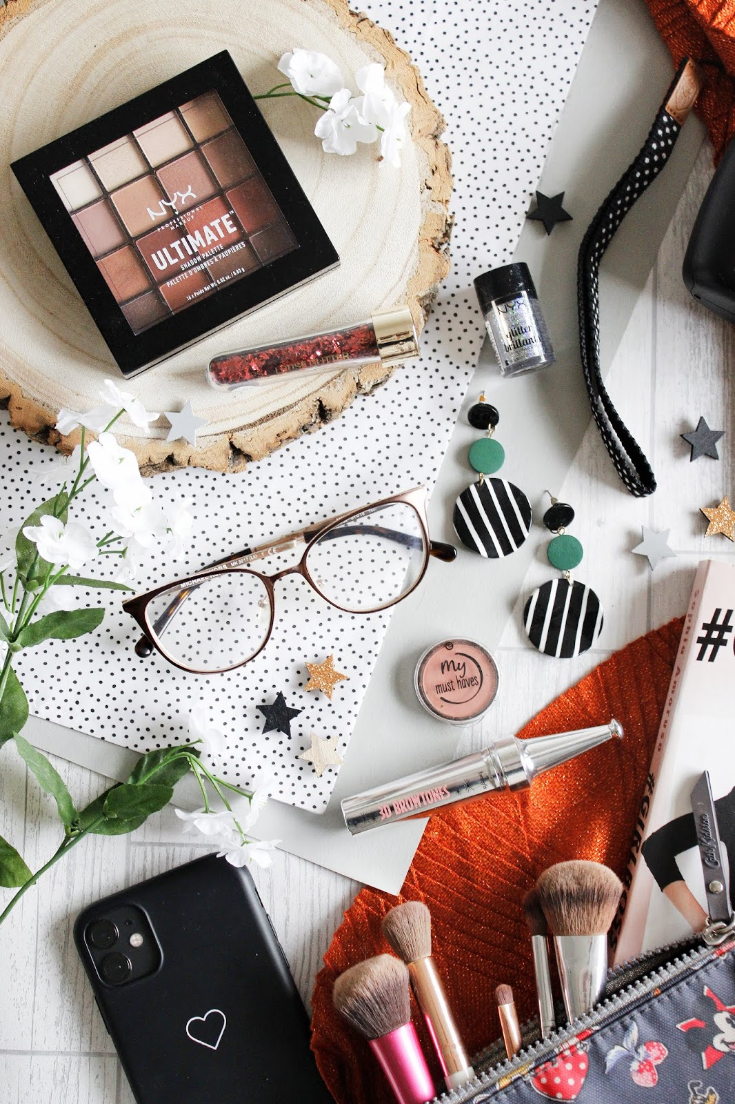 Creating makeup looks when wearing glasses - see the stars