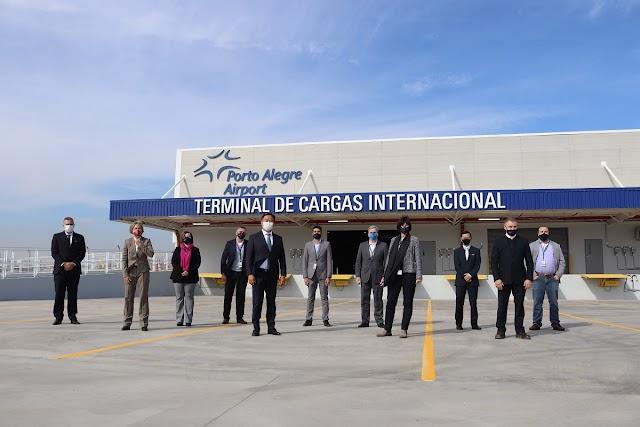 Com projeto inovador, Porto Alegre Airport ganha novo terminal de cargas internacional