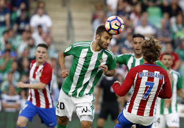Live Streaming, Minggu 10 Desember 2017 BETIS VS ATLETICO MADRID