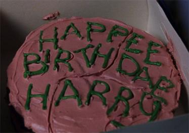 Happee Birthday Harry Cake