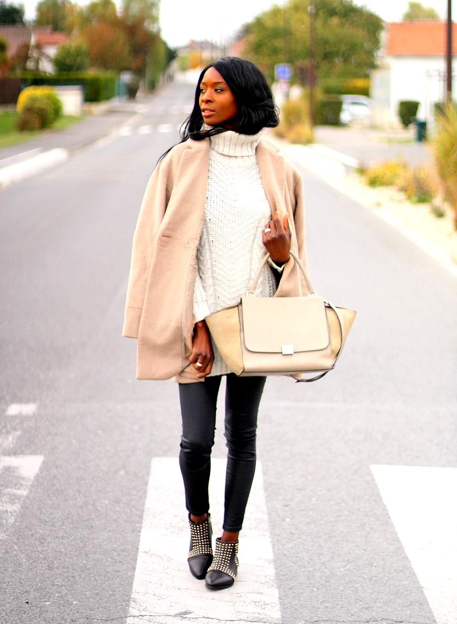 boots-chloe-susanna-dupes-celine-trapeze-manteau-camel-pull-col-roulé-hm-blog-mode