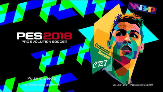 CR7 Start Screen PES 2017