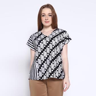 Baju Blouse Batik Untuk Remaja