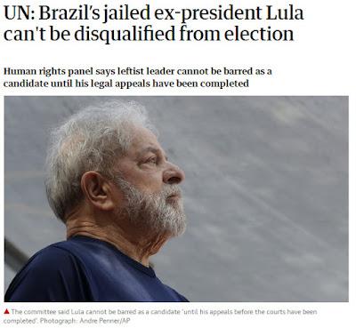 Guardian com Lula