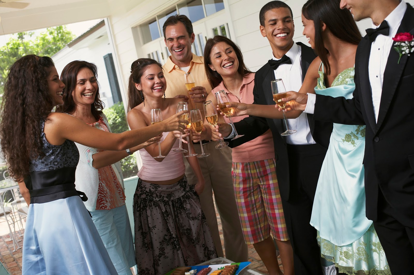 Why do parents make the decision to let their teen drink? Is
