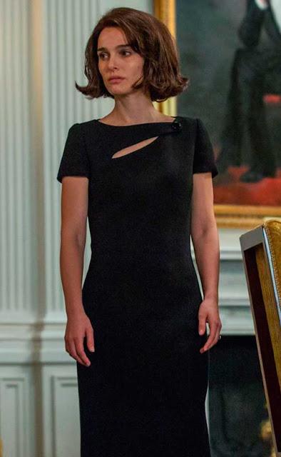 Natalie Portman é Jackeline Kennedy, vestido luto