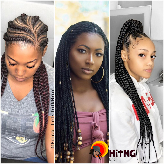 6 Latest Ghana Weaving Hairstyles 2019 Photos HiTNG
