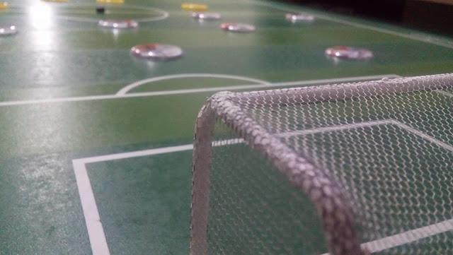 Futebol de mesa.