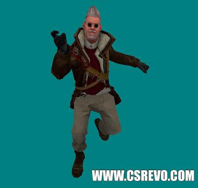 Skin Player - Balkon Romanov - HD para CS 1.6 cs csgo  Balkam Romanov