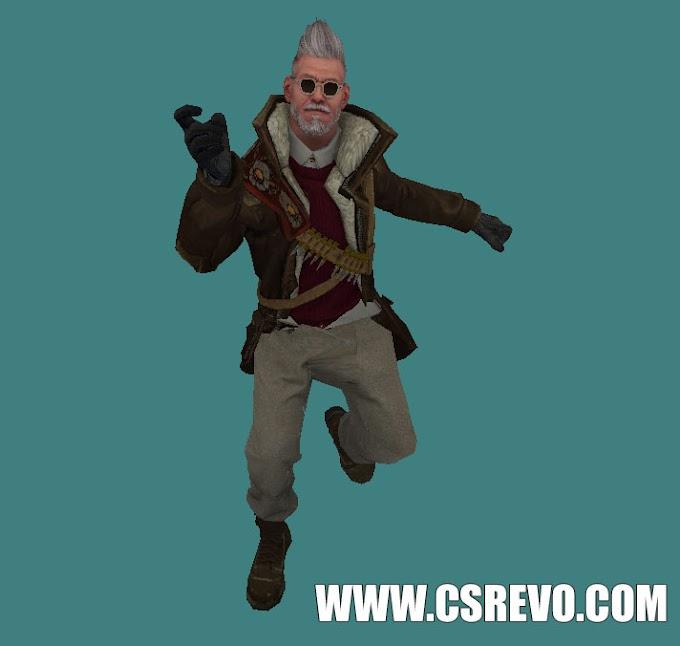 Skin Player - Balkam Romanov - HD para CS 1.6