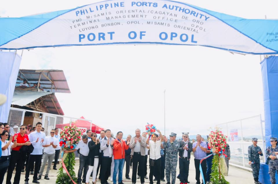 Inauguration of Opol Port in Brgy. Luyong Bonbon, Misamis Oriental