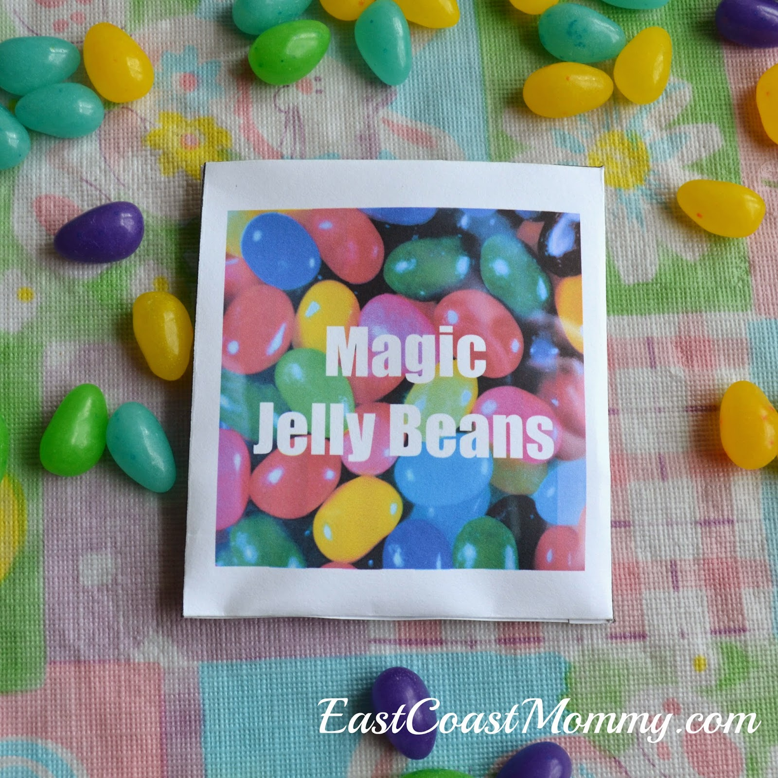 East Coast Mommy Magic Jelly Beans Free Printable Envelope