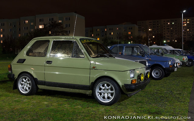 Fotografia motoryzacyjna - Trójmiasto Klasycznie Fiat 126p maluch