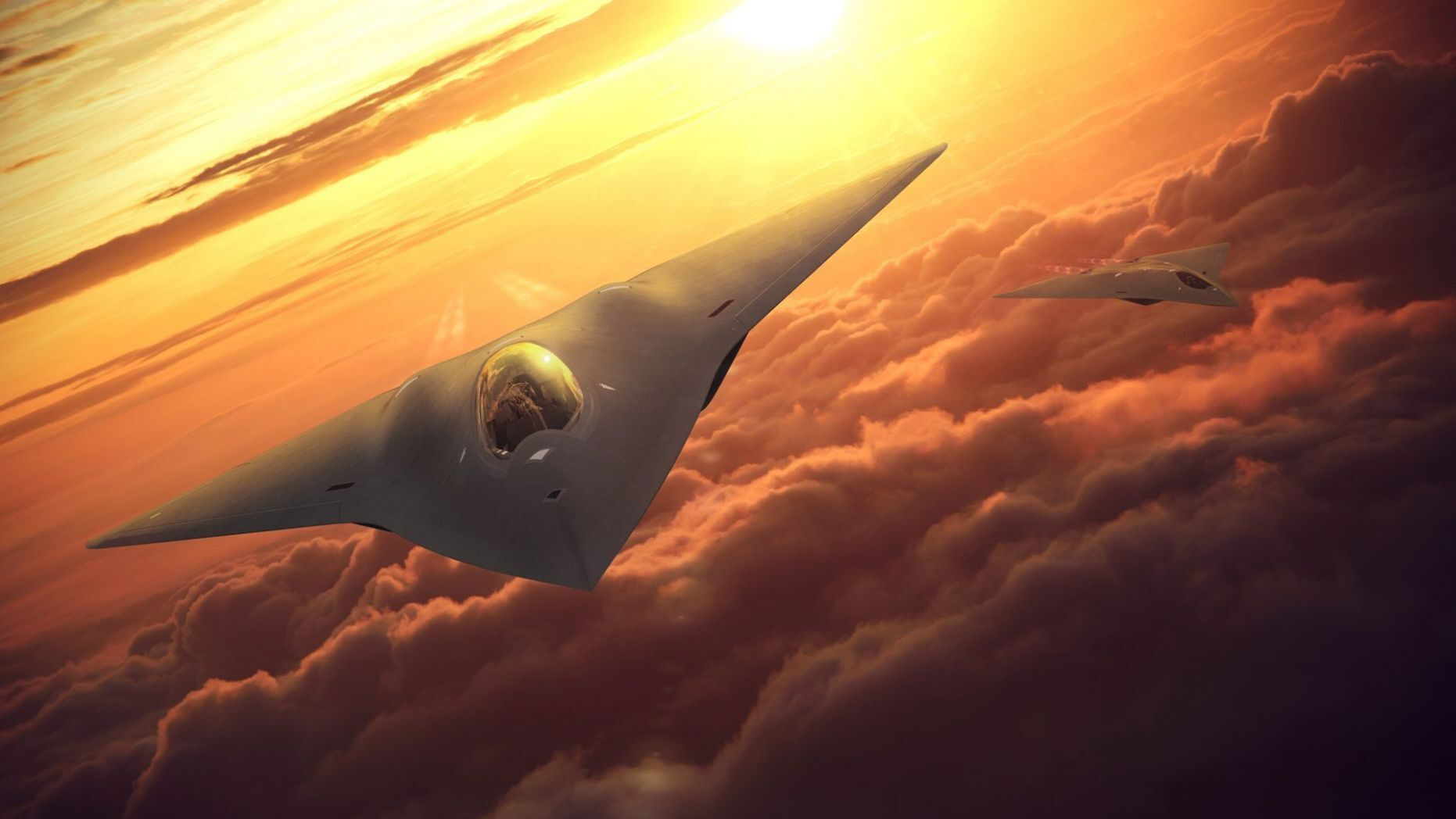 6th-Gen Stealth Fighter – 'Super Fast'