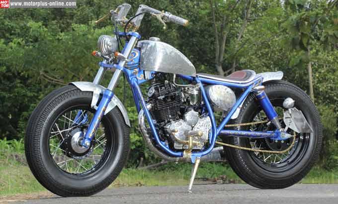 Cara Modifikasi Motor Yamaha Scorpio Keren Dan Cepat