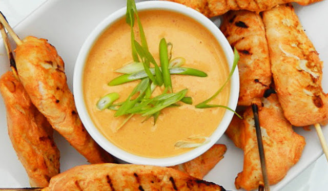 Coconut curry dipping sauce