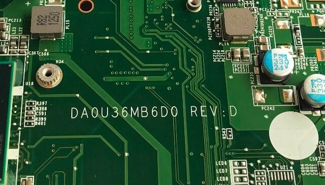 DAOU36MB6D0 REV-D SLJ8C hp sleekbook 15-b008tx U37 Bios