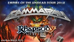Conciertos de Gamma Ray en Madrid, Barcelona y Pamplona