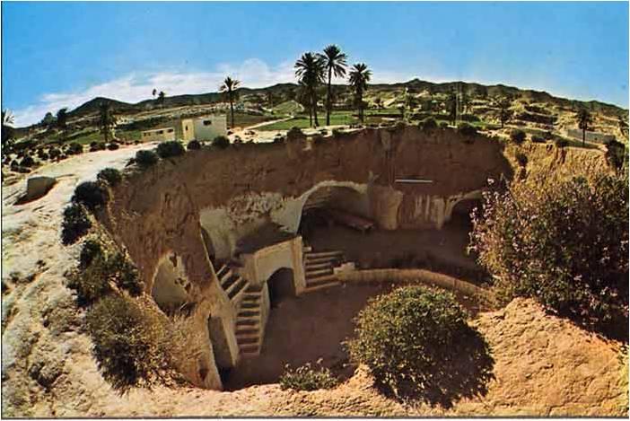 Richard jakubaszko a aldeia de matmata na tun sia - Casas enterradas ...