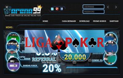 Kenalan Dengan Website Poker Terbaru Arena99!
