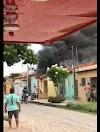 Homem não aceita fim do relacionamento e incendeia casa da ex-companheira em Mossoró
