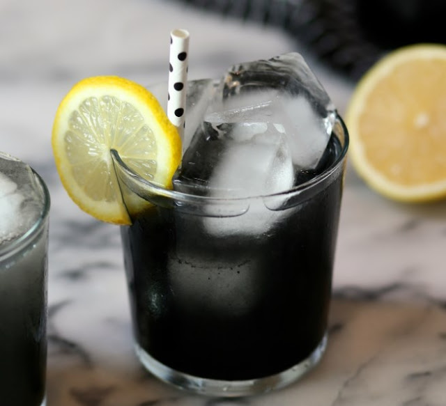 Black Lemonade #summer #drinks