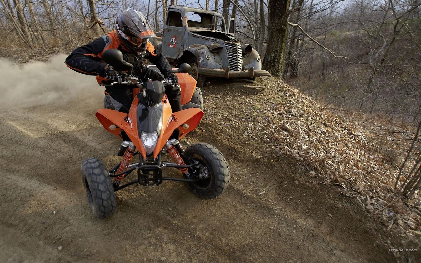 wallpaper KTM 450 ATV