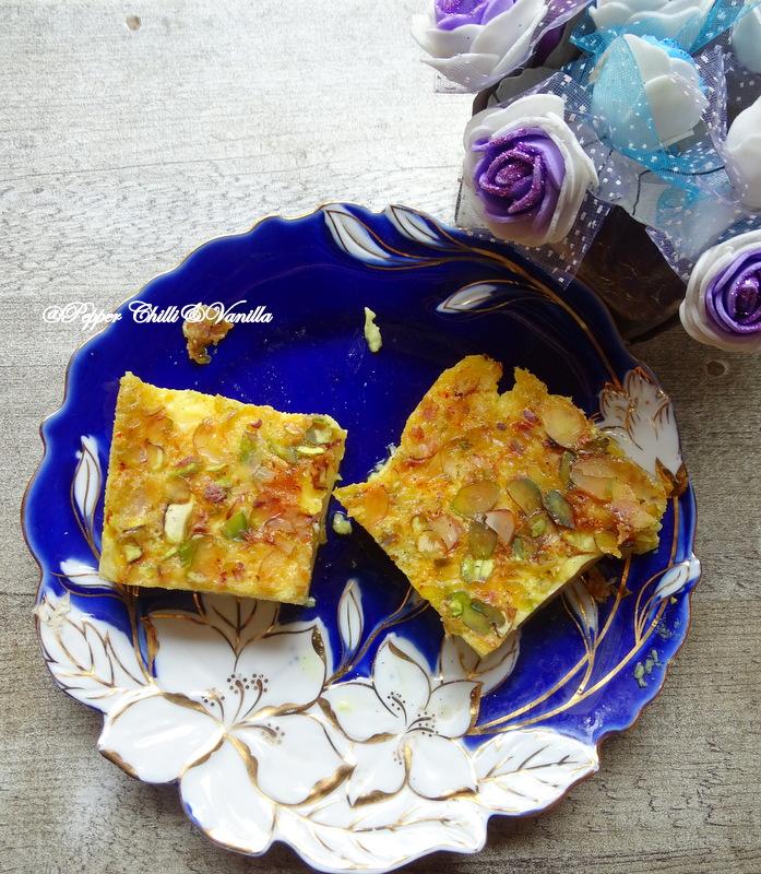 how to make shahi saffron egg pudding