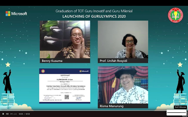 Berdayakan Guru di Indonesia, PGRI & Microsoft Luncurkan Gurulympics 2020