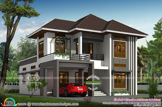 4 bedroom double storied house 1800 sq-ft