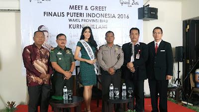 Meet & Greet Kurnia Illahi Finalis Putri Indonesia Dari Riau