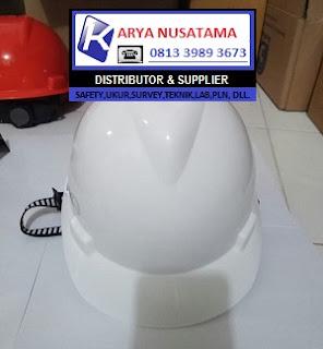 Jual Helm Proyek Warna Putih MSA V-GARD di Lampung