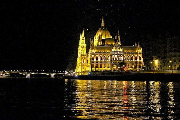 Parliament Building at Night available to buy as decorative wallart