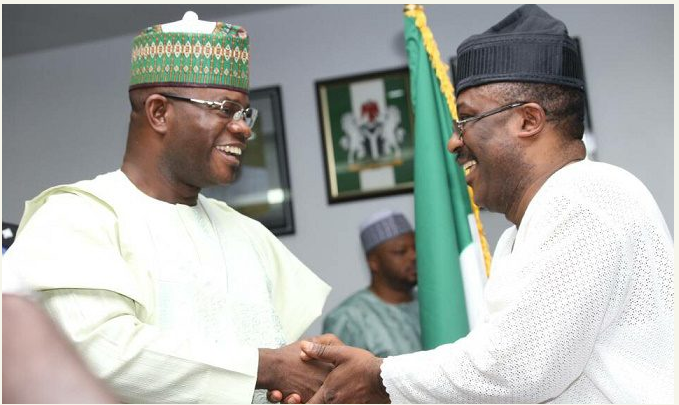 Yahaya Bello Congratulates Smart Adeyemi over Kogi West Victory