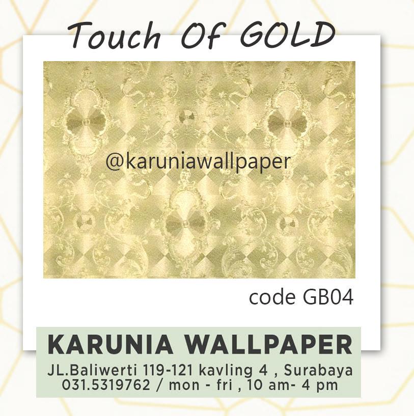 jual wallpaper dinding lapis emas