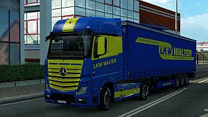 LKW WALTER pack for Mercedes MP4 by RomanTheViper
