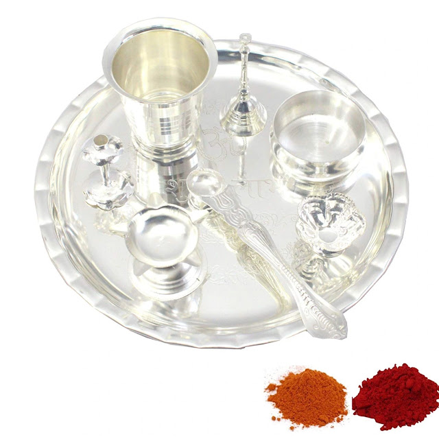 Diwali Pooja Thali diwali gift